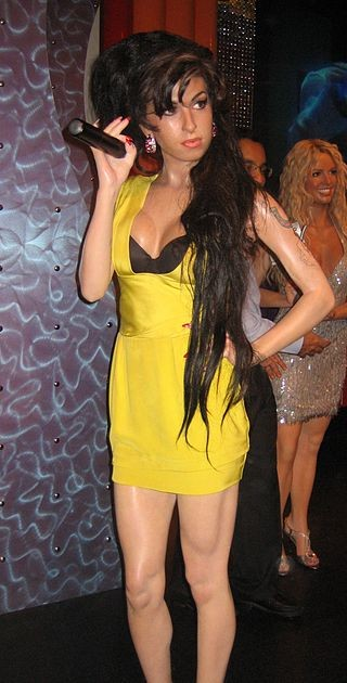 Amy Winehouse Wax Figure