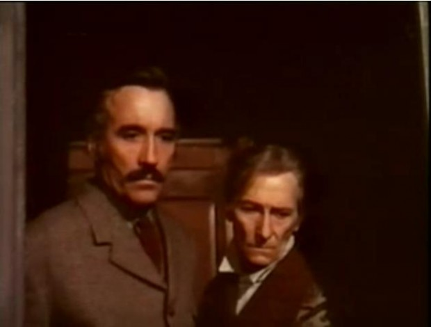 Christopher Lee with his Close friend Peter Cushing