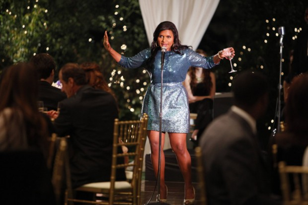 Mindy Kaling,  on the The Mindy Project