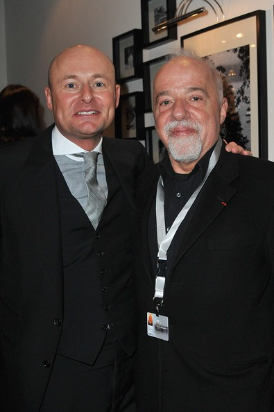 Georges Kern with Paulo Coelho at Geneva