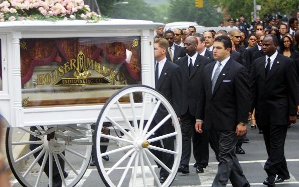 Aaliyahs Funeral