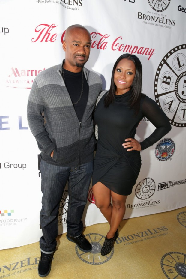 Keshia Knight Puliam with Big Tigger