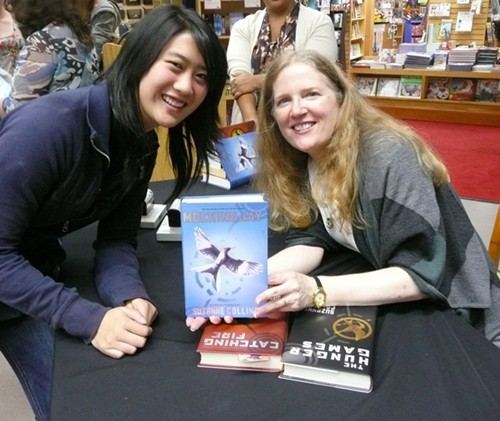 Nicki Yee with Suzanne Collins