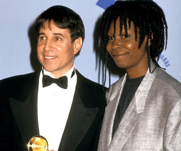 Paul Simon And Actress Whoopi Goldberg Attend The Grammy Awards