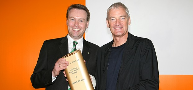 Sir James Dyson was honored with the Plus X Lifetime Achievement Award in 2007