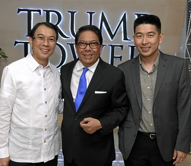 Tony Tan at Trump Tower Manila Group
