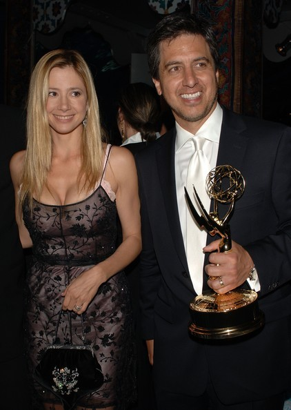 Ray Romano with His Emmy Award
