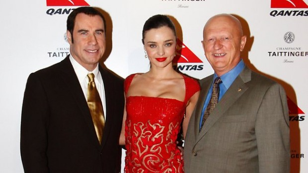 Miranda Kerr during Qantas Spirit of Australia red carpet arrivals.