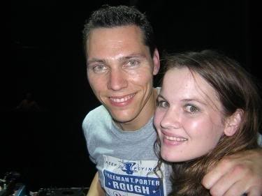 Tiesto with his Wife