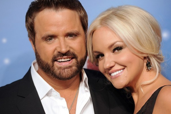 Randy Houser with his Wife