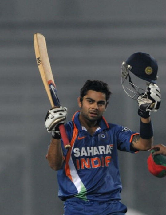 Kohli After His First ODI Century