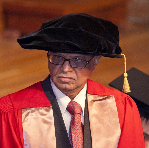 Narayana Murthy Received Honorary Doctorate f