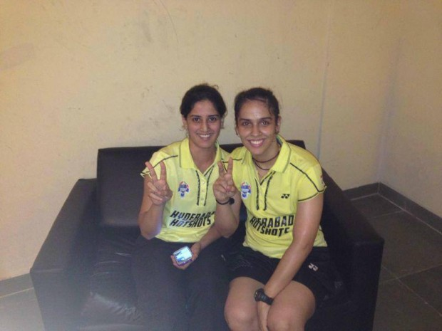 Saina Nehwal at PBL