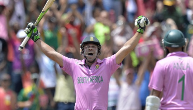 De Villiers After Getting Fastest Century in ODIs
