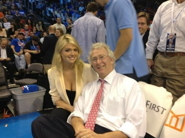 Aubrey McClendon With Kate UPton