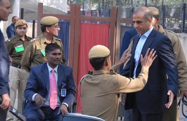 Sunil Mittal at a Polling Station During Elections in India