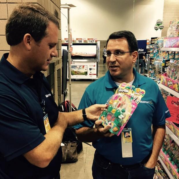 Doug McMillon at Toys Department
