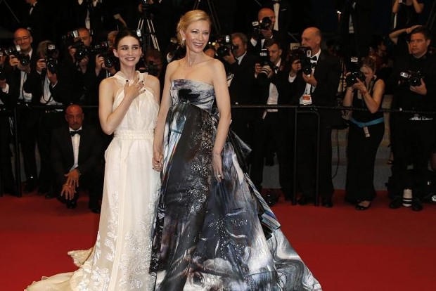 Rooney Mara and Emmanuelle Bercot  At Cannes Film Festival