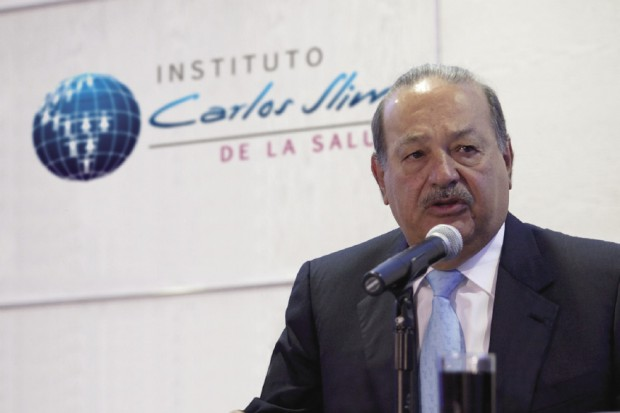 Carlos Slim Helu during the Carlos Slim Awards in Health ceremony