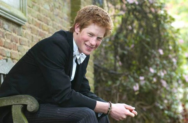 Prince Harry At at Eton College