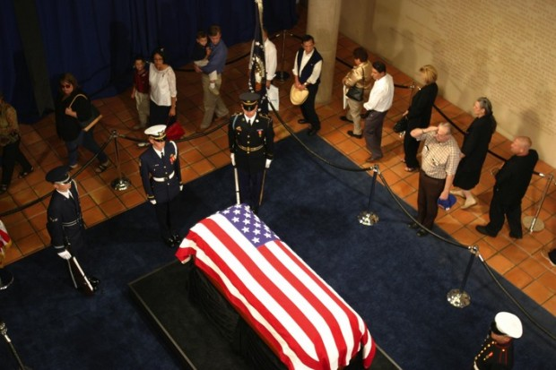 President Reagan Funeral in 2004