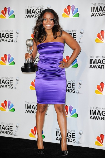 Keshia Knight Puliam with her Image Award