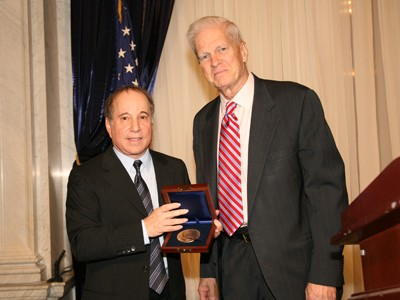 Paul Simon Receives The Gershwin Prize From James H. Billington, Librarian Of Congress