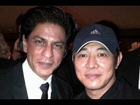 Jet Li with Indian Actor ShahRukh Khan