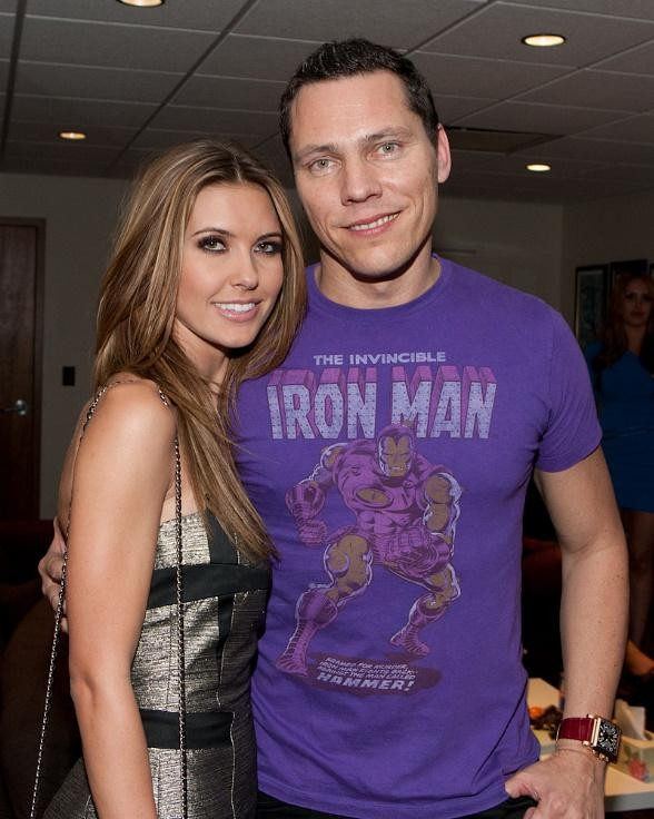 Tiesto with Audrina Patridge