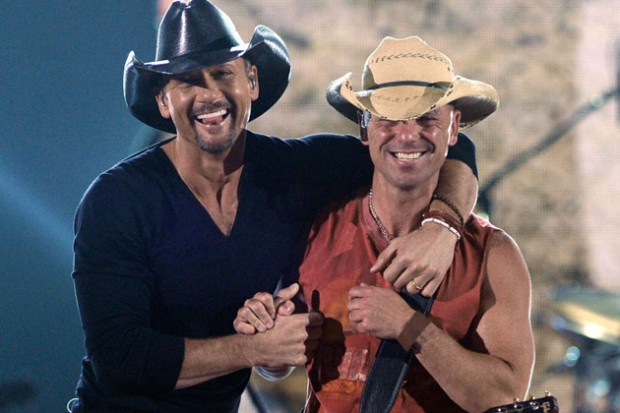 Tim McGraw and Kenny Chesney
