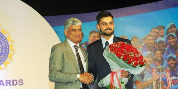 Kohli at BCCI Awards
