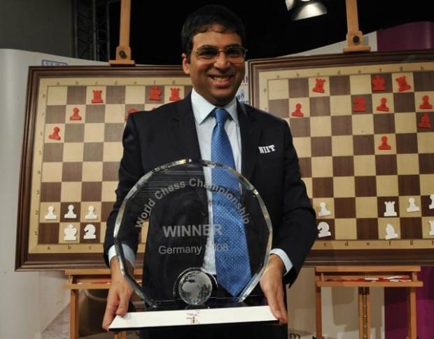 Viswanathan Anand In World Chess Championship 2008