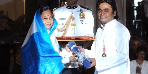 Rahman Honored with Padma Bhushan Award