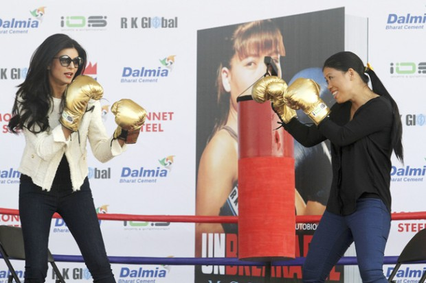 Mary Kom With Sushmita Sen