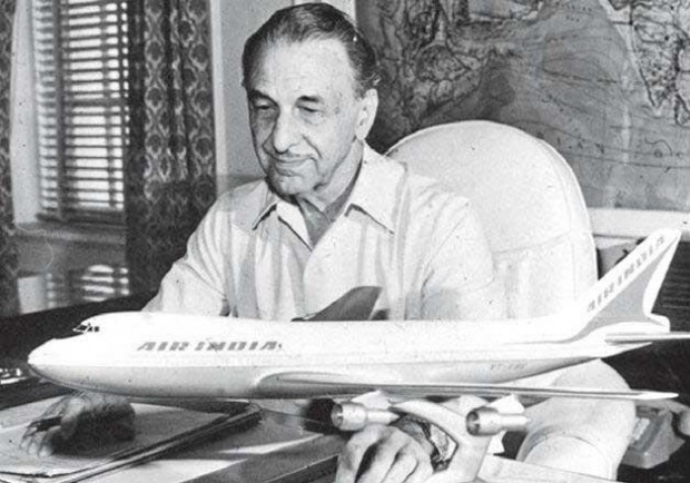 J.R.D. Tata at TATA  Aviation Dream