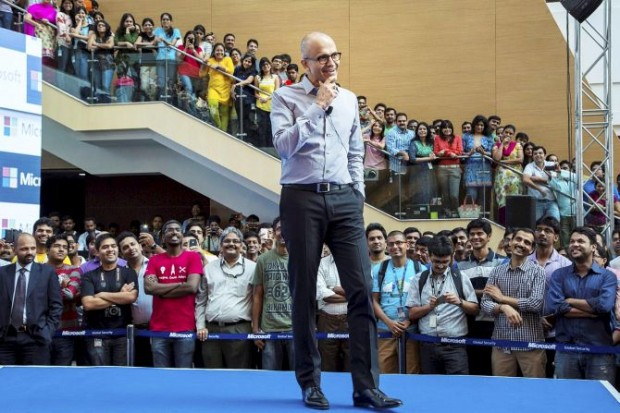 Satya Nadella interaction with Microsoft Indian Employees