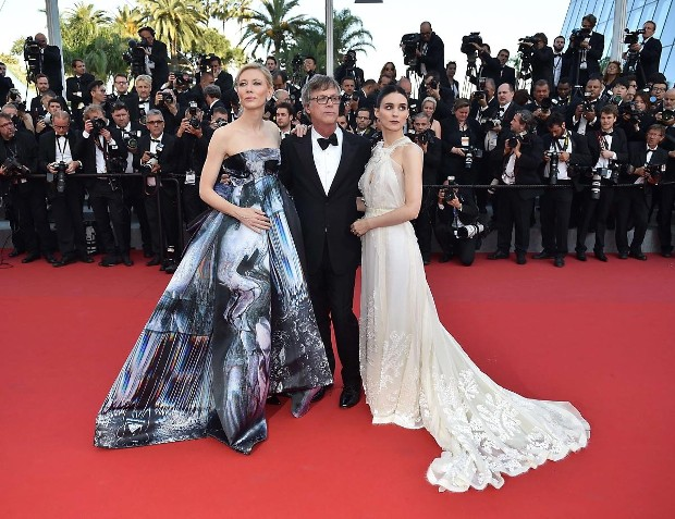 Rooney Mara,Cate Blanchett and Todd Haynes at Cannes Film Festival