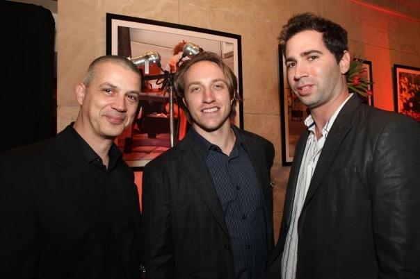 Eran Gefen, Gideon Amichay and Chad Hurley.