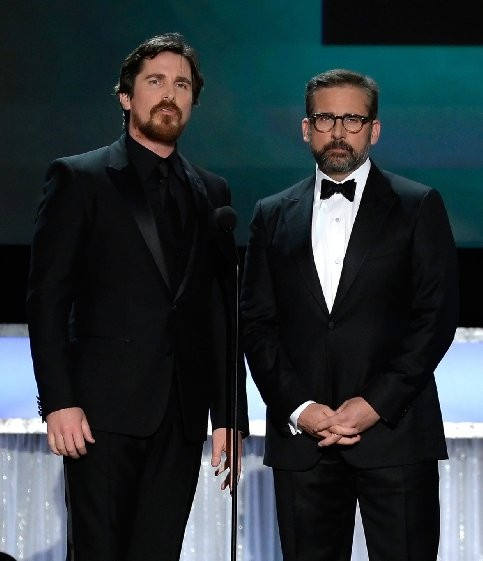 Christian Bale and Steve Carell