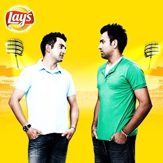 Rohit Sharma In Lays Ad