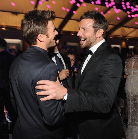 Bradley Cooper and Scott Eastwood at Oscars 2014