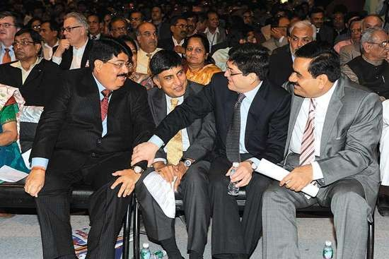 Adani at Gujarat Summit