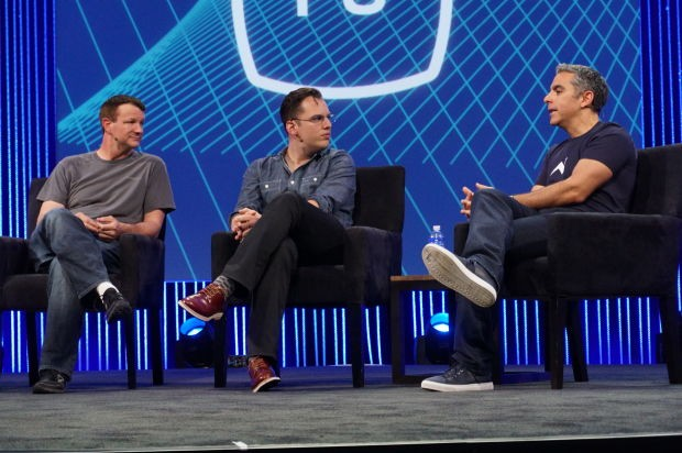 Whatsapp Co-Founder Brian Acton with Instagram Co-Founder Mike Krieger