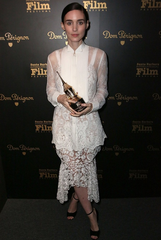 Rooney Mara Receives Cinema Vanguard Award at Santa Barbara Film Festival