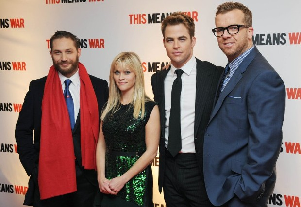 Tom Hardy at event of This Means War