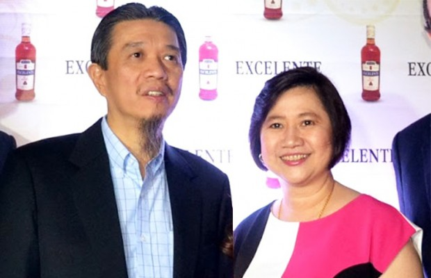 Tony Tan with His Wife Grace Tan