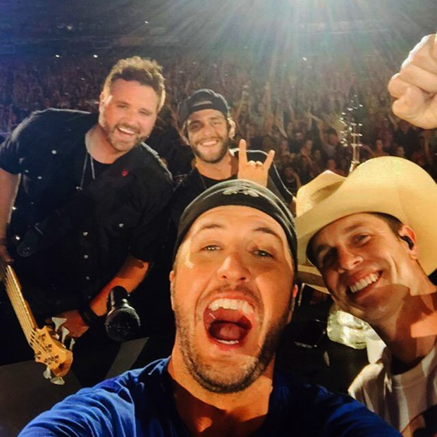 """Randy Houser at """"Kick Up The Dust"""" Tour"""