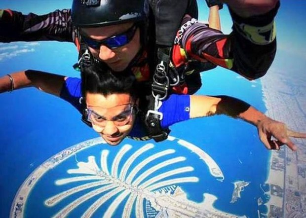 Kohli's Sky Jump