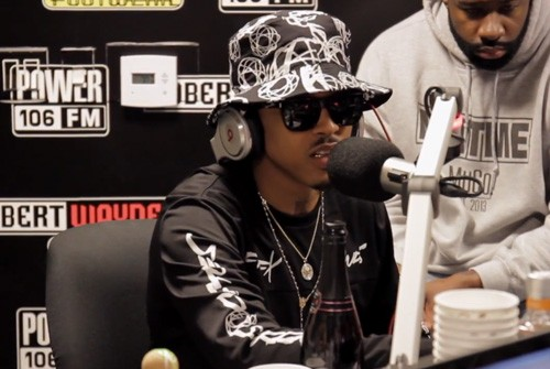August Alsina in 'The Lift Off' show