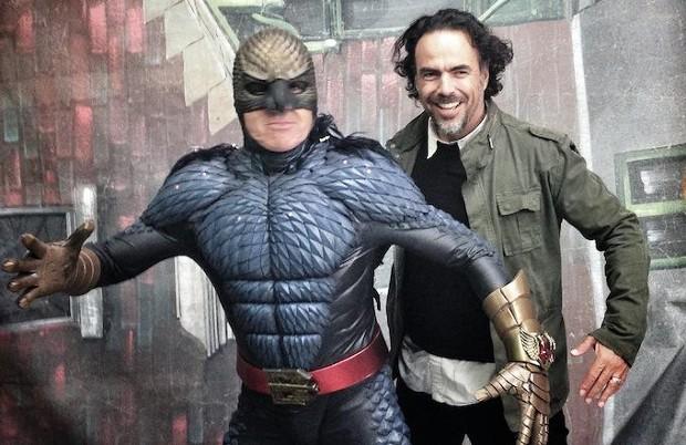 Alejandro González Iñárritu In Birdman Set